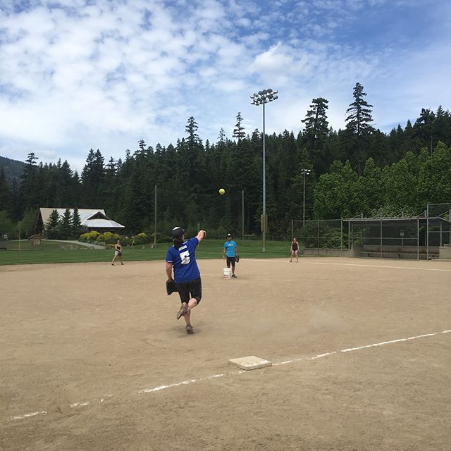 Women's clinic 2019 #whistlerslopitch