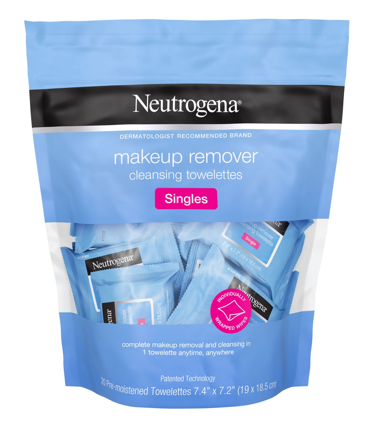 Neutrogena Face Towelettes - If you don't have time to take a shower after class, these are a great alternative to help clean your face from any sweat, which can cause breakouts. Neutrogena even sells towelette singles now that you can just toss in your gym bag instead of carrying around a giant package of wipes