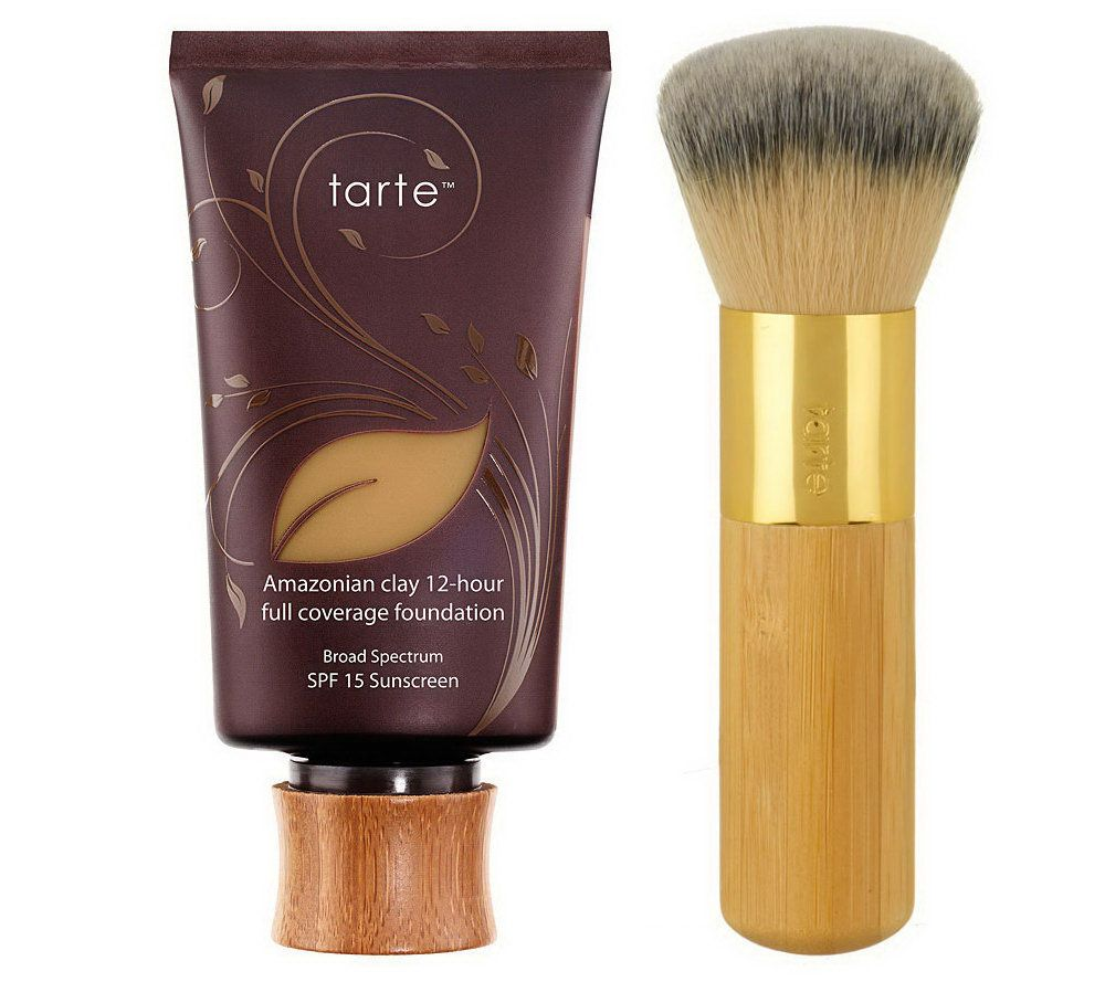 "Foundation - Tarte Amazonian Clay Foundation""I loved this foundation so much that it lead for me to work for the brand for almost 5 years! This formula is impeccable, it's a clay based foundation which adapts to your skins moisture levels, it hydrates in areas that gets dry and mattifies in areas that usually accumulate shine! The finish makes you look air brushed and it photographs SO WELL! It's whatever coverage you want it to be without feeling heavy & stays on regardless of how intense your day (or workout) may be."""