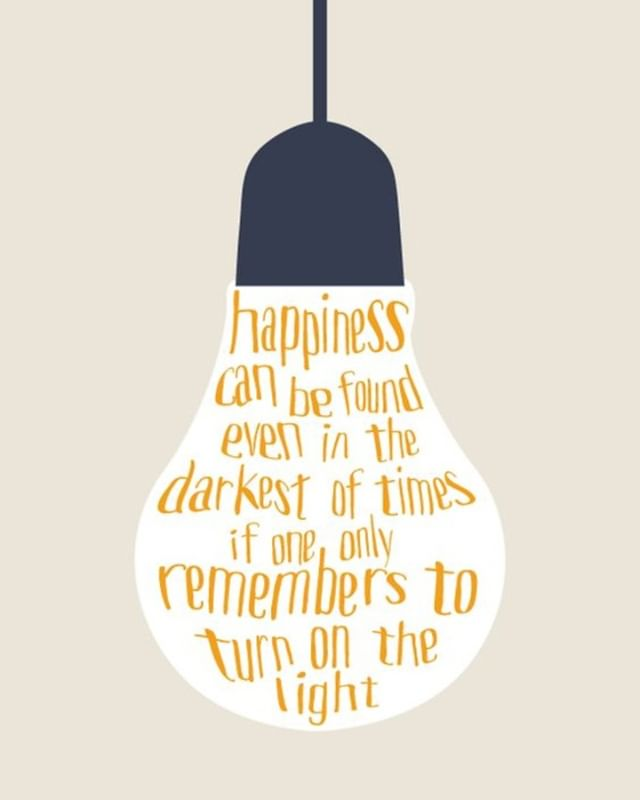 Don't allow the dark to block out all in life that brings you happiness.  You deserve to be happy! #Happy #Happiness #PositiveVibes