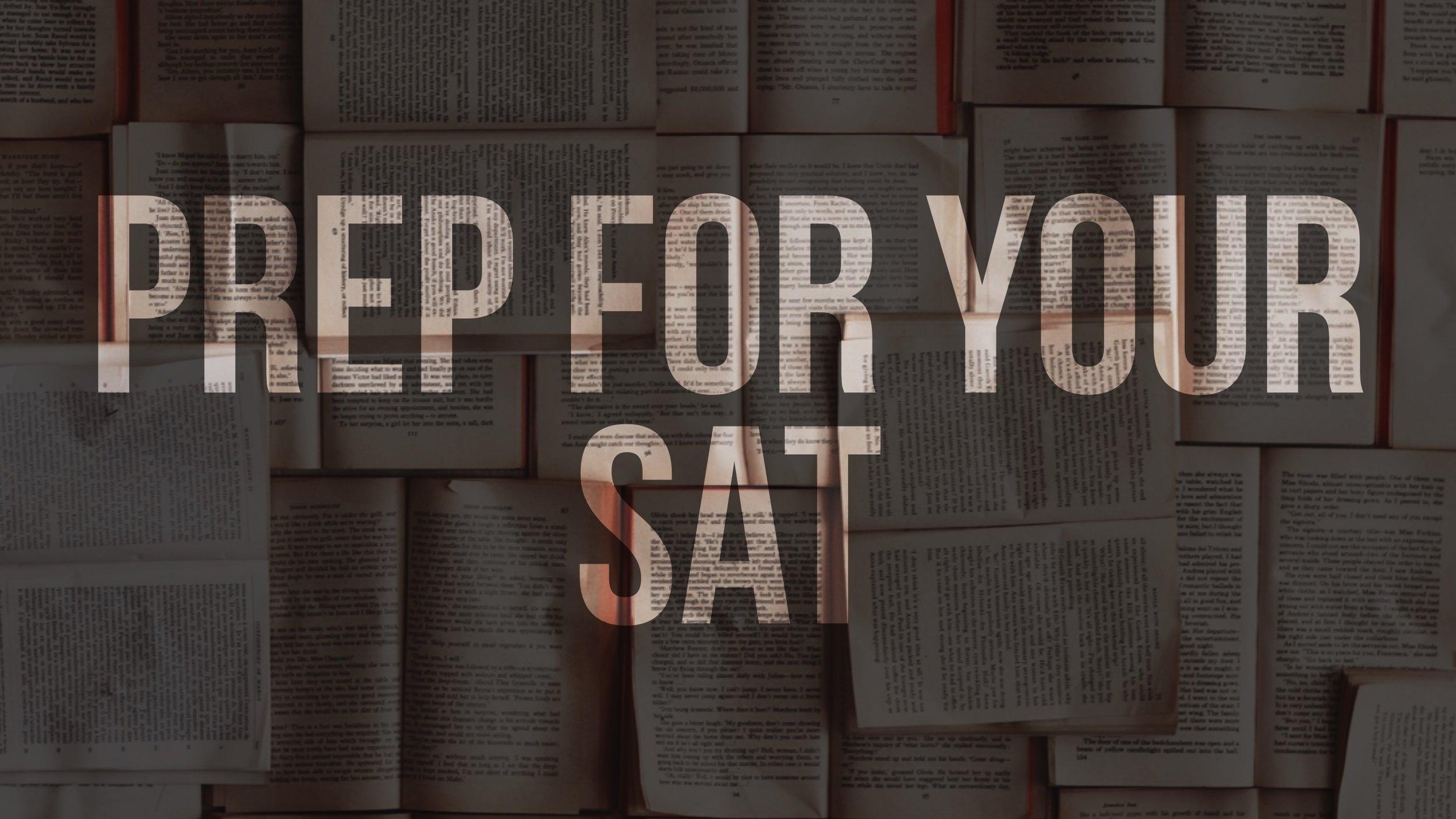 SAT Prep test -