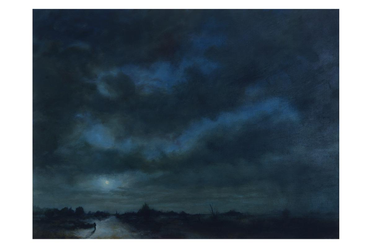 Scape #4 - Moonlit Storm