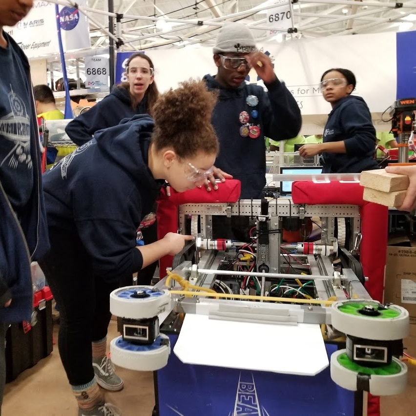 beam robotics - Join FIRST Robotics Team 6870, to design, collaborate with industry professionals, program and build your very own robot to compete in an international challenge sponsored by FIRST Robotics. All levels of knowledge welcome, and for high school students, only.