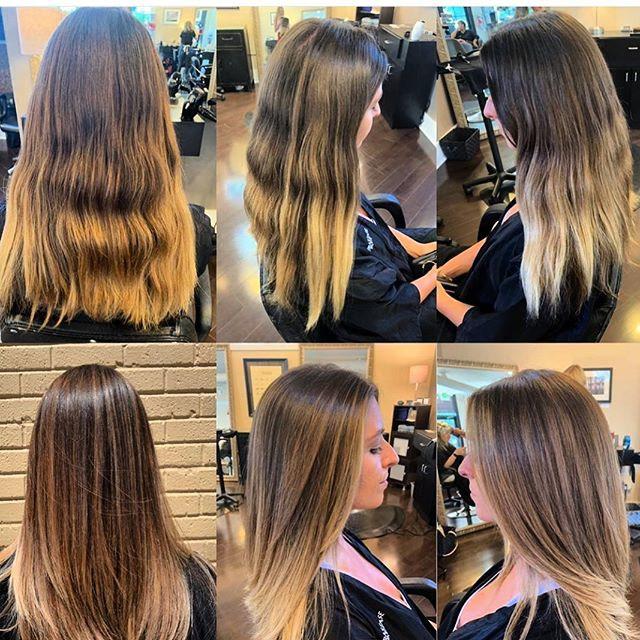 The blend we all yearn for 💕 Brittany @beeaazzy is offering 20% off the month of August of you mention this post.  Hurry!  She will book fast! 303-333-3750 #poshthesalondenver #redken #loreal #wella #olaplex #makeover #fresh #oribeobsessed #naturalbeauty #blondebalayage