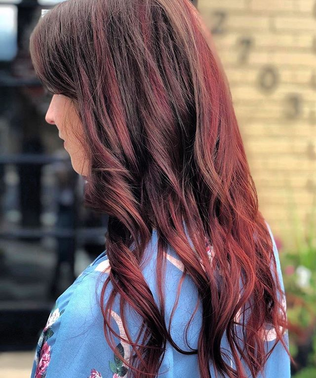 Wow Casey Jo! 🔥 Make a color appointment with Casey Jo for August 17 and receive a complimentary haircut to freshen up for fall! 303-333-3750 #color #colorsforfall #poshthesalondenver #fashion #hairtrends #olaplex #oribeobsessed #kerastase
