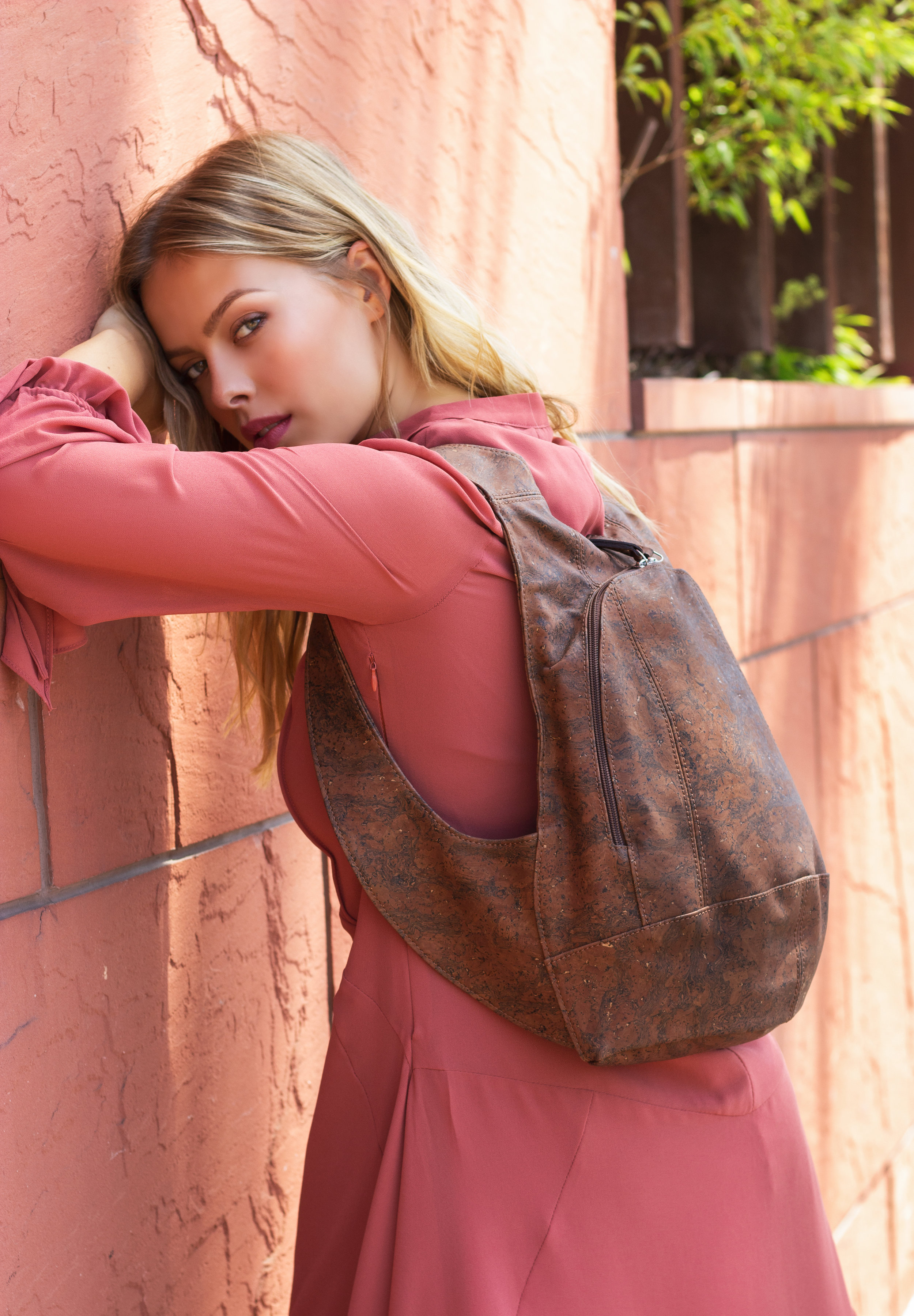 ARSAYO   This family designed the first VEGAN secured city backpack made out of cork!  These backpack are 100% ethical and made in Portugal.