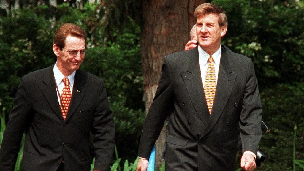 OCTOBER 1999 and Jeff Kennett lost the seemingly