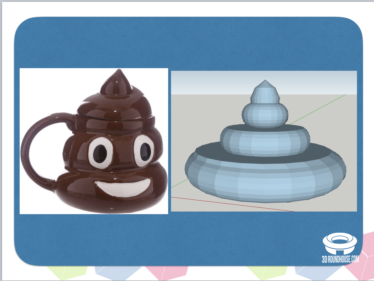 Inspired to recreate the poop emoji!