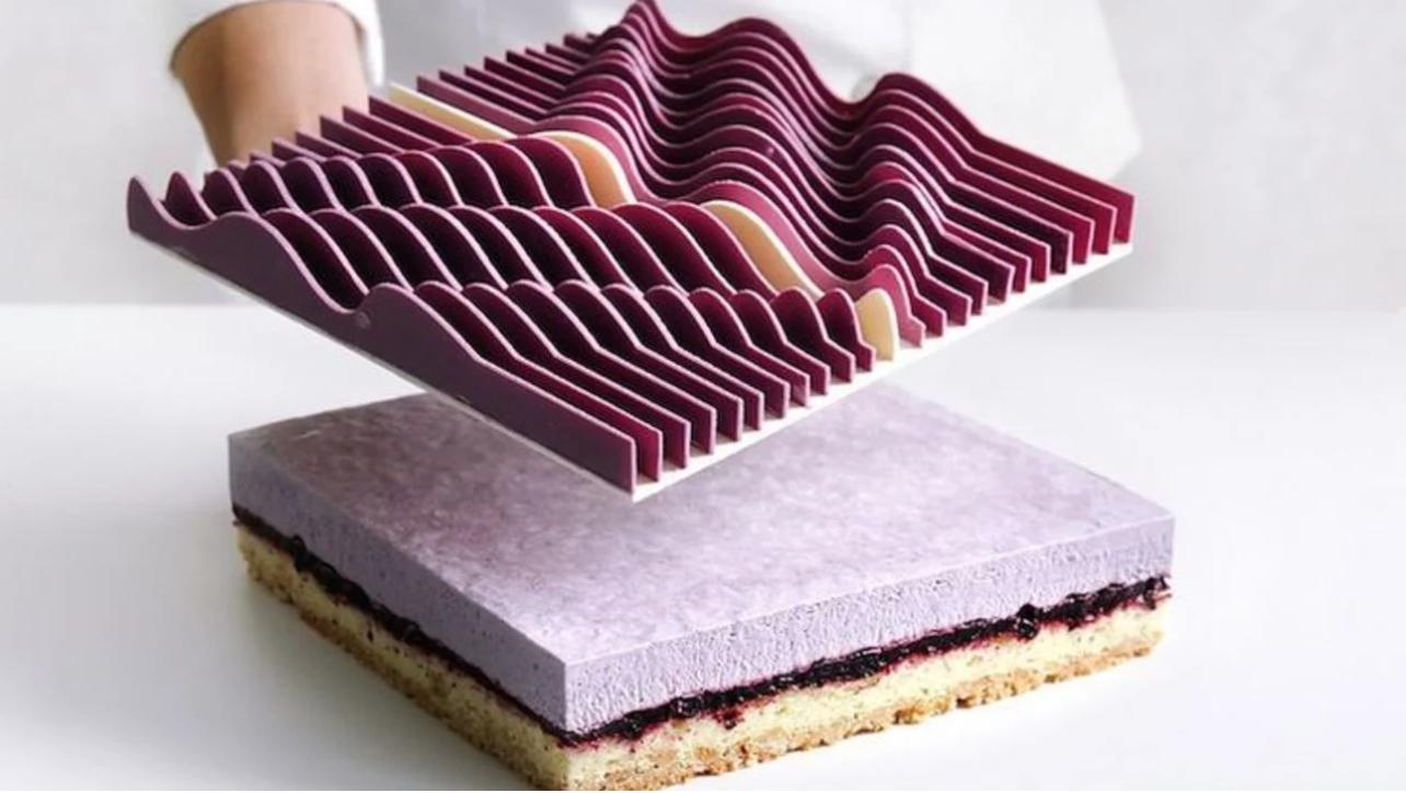 打印糕点背后的大师们 • 3D打印西点蛋糕 // images via pinimg.com
