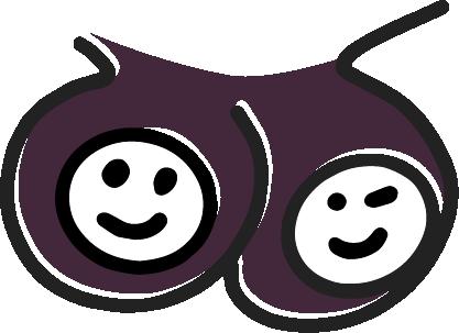 dusk purple: #43273b