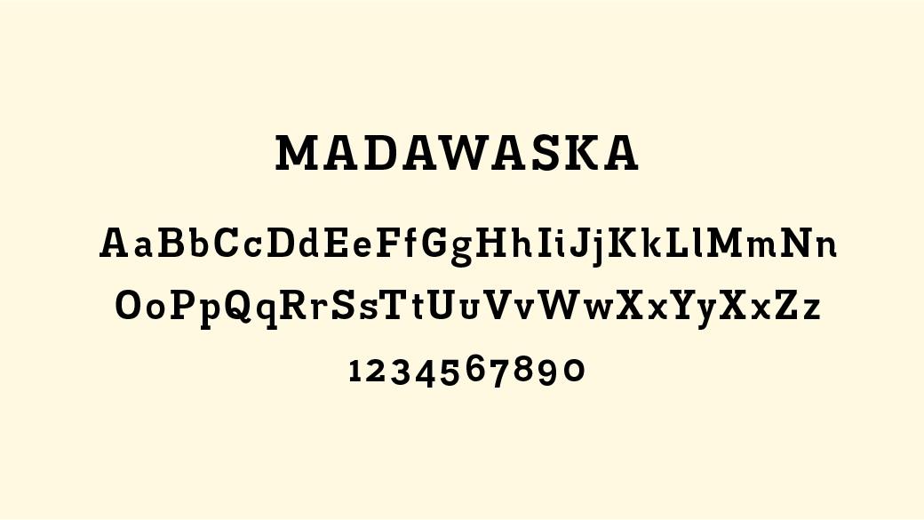 Madawaska Typography