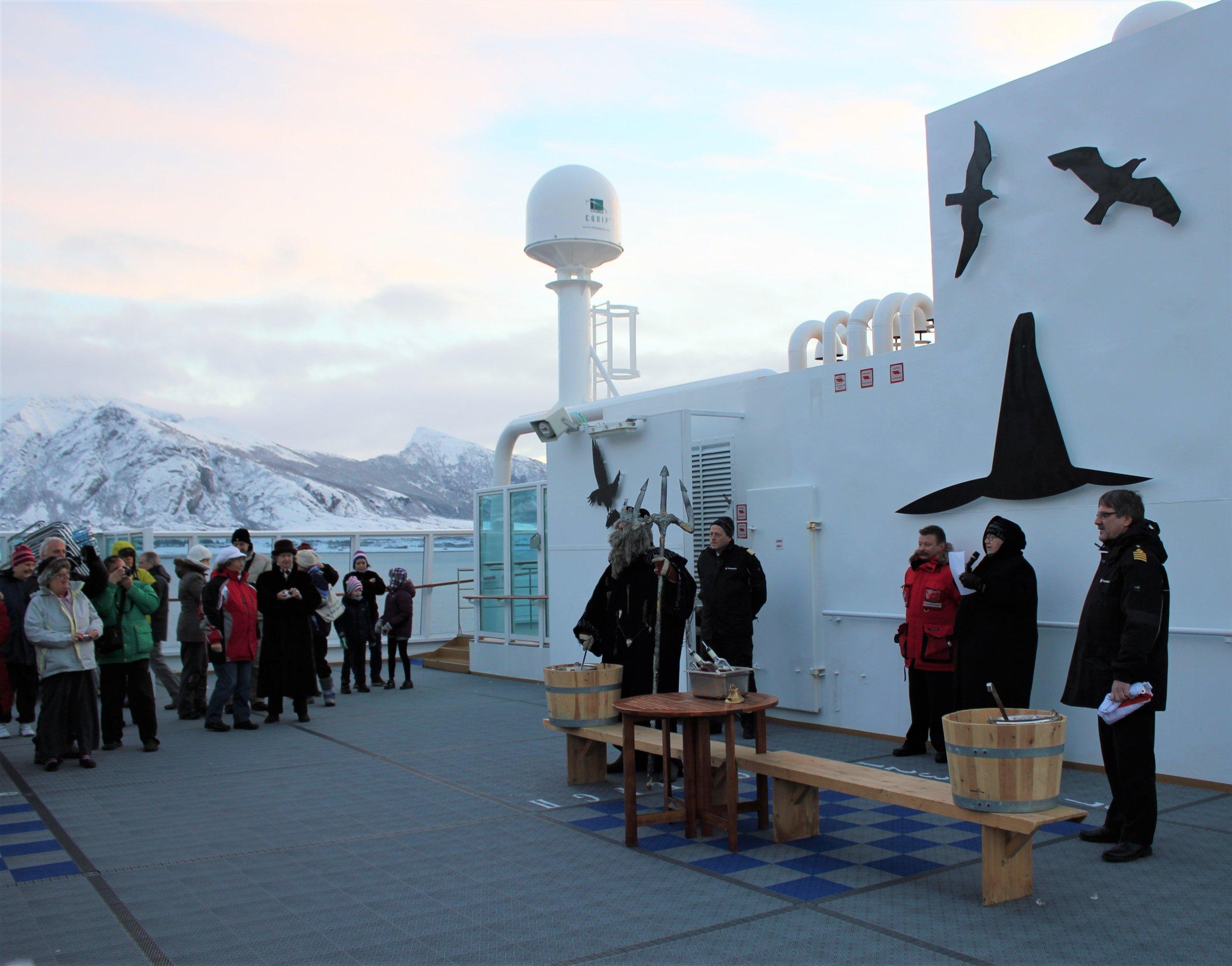 Arctic Circle Baptism