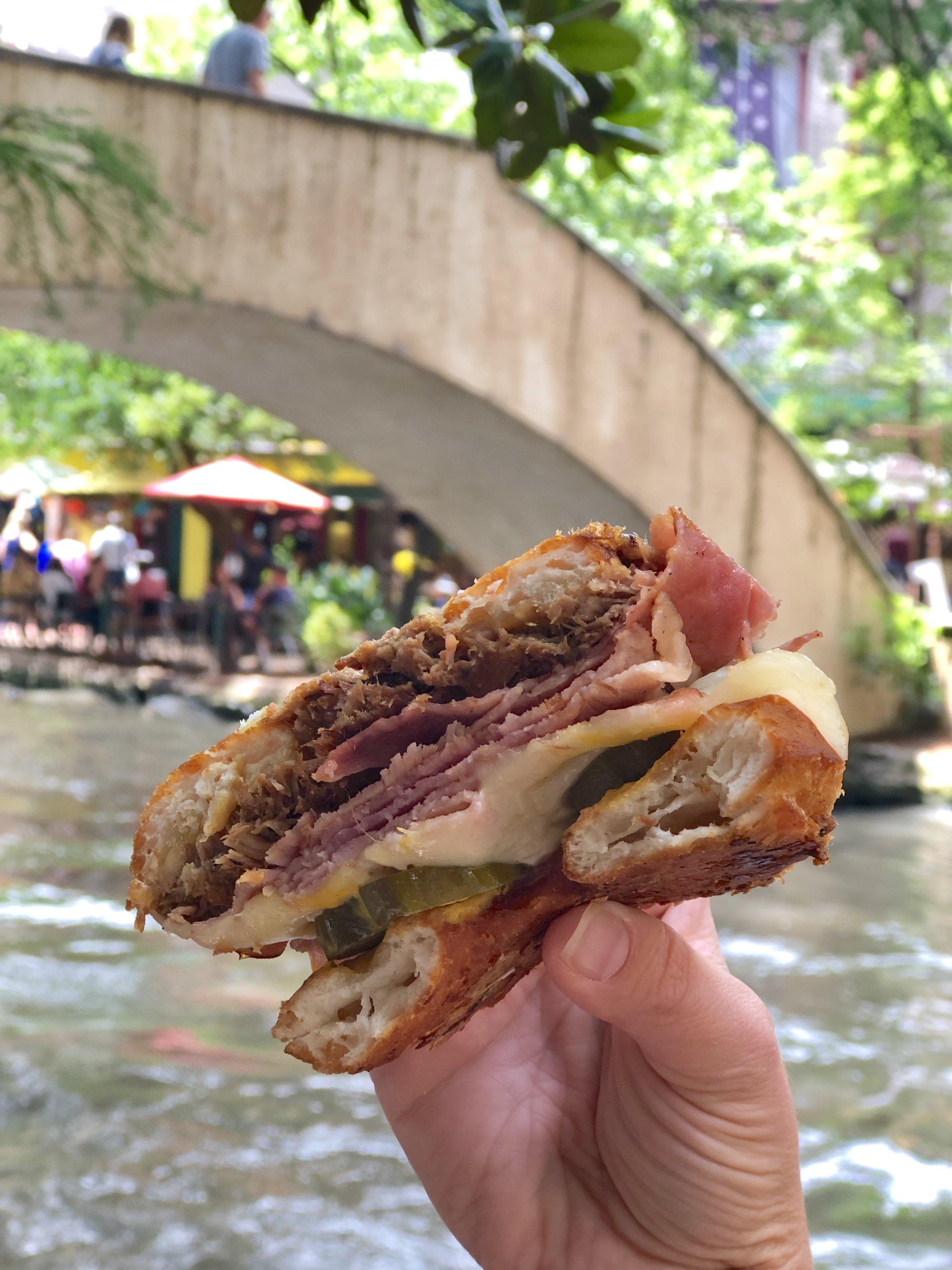 Gourdough's Public House Cuban Sandwich