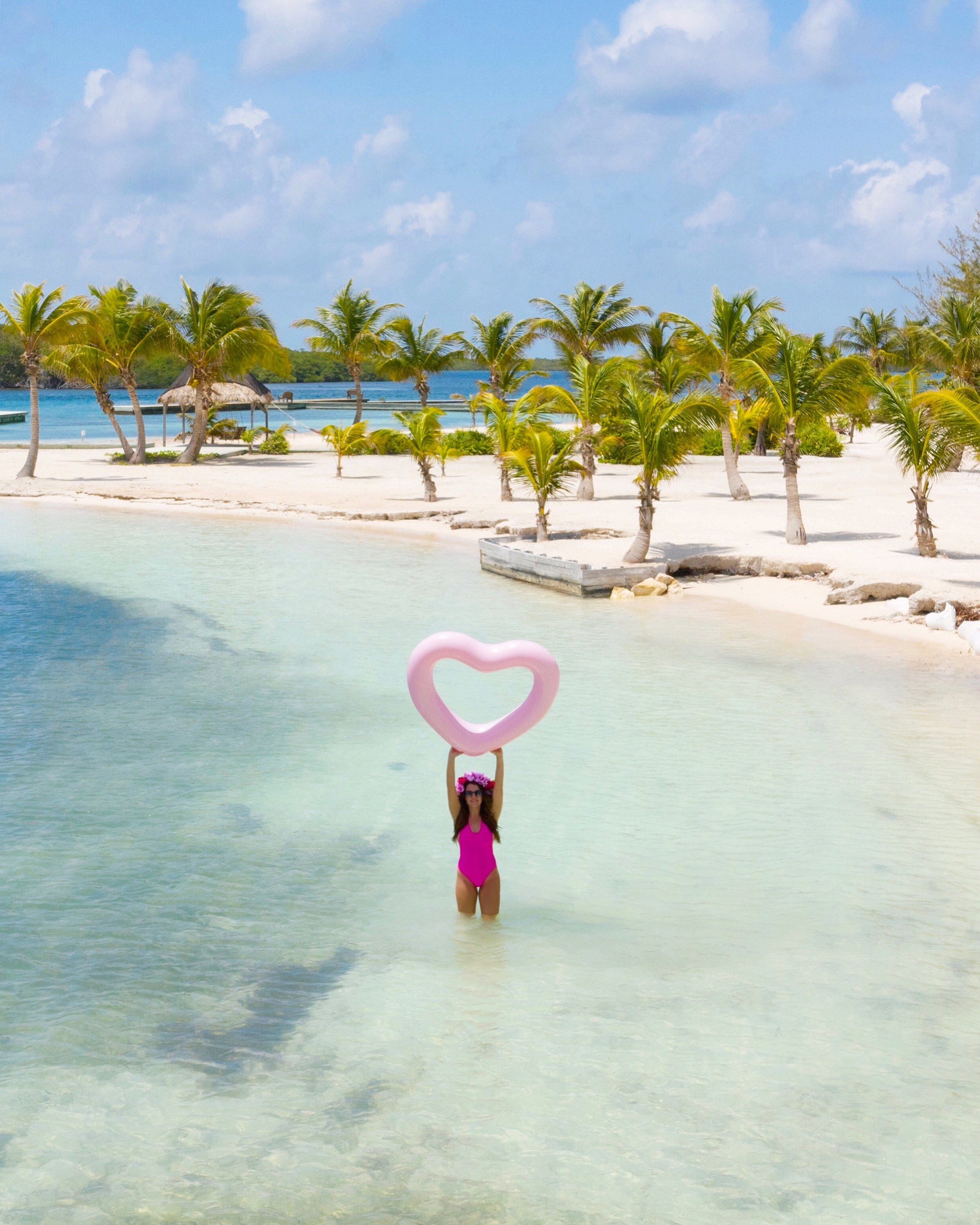 I love you to the beach and back Turneffe Island Resort