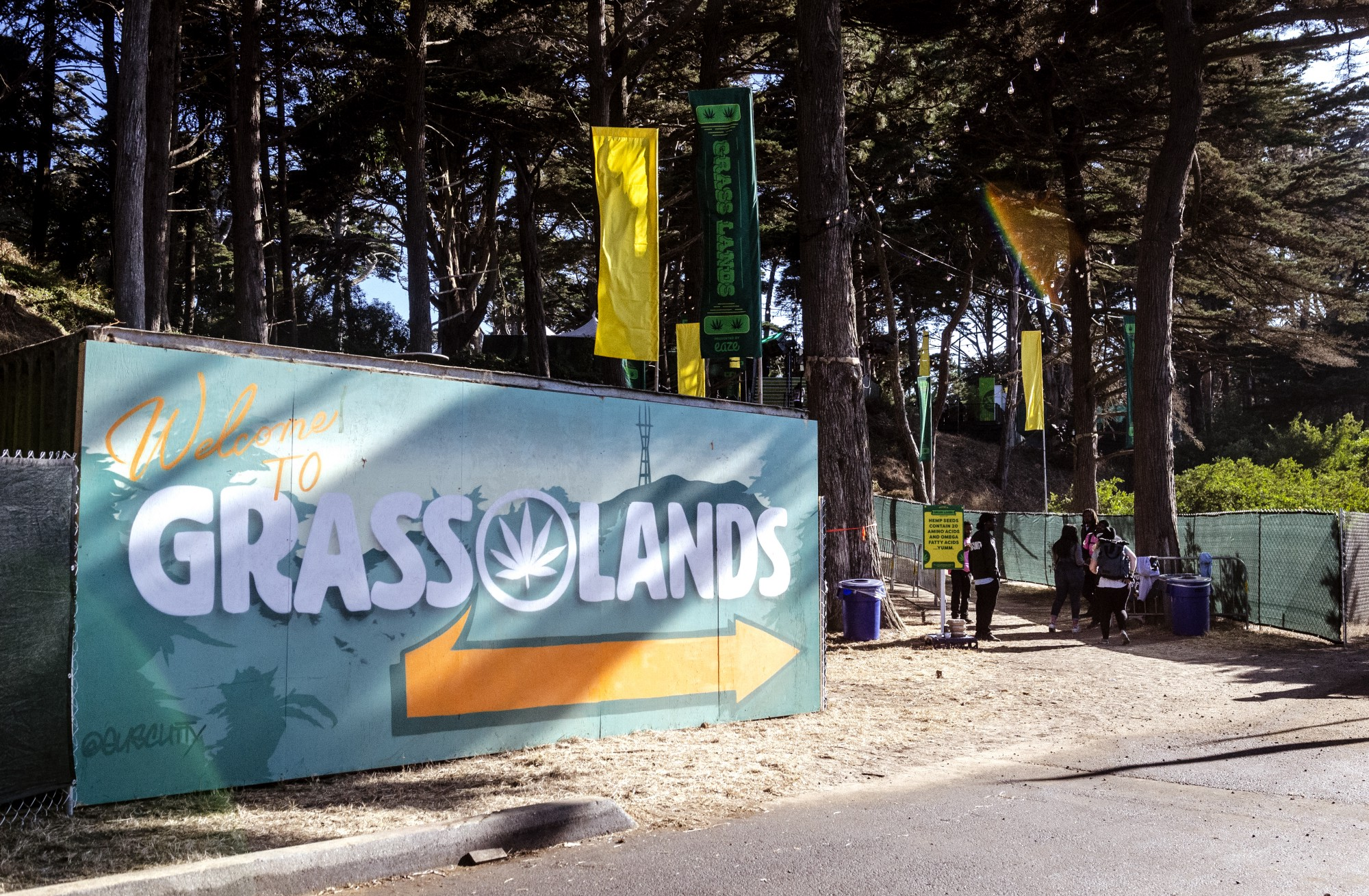 The Real Star of Outside Lands 2019: Grass Lands - Why weed was the true headliner.