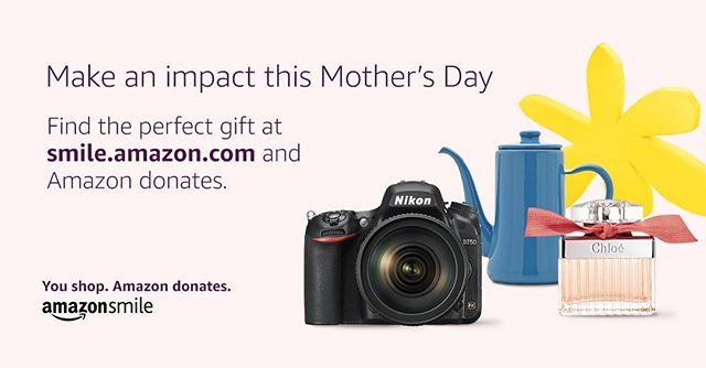 Please dont forget to use smile.amazon.com for your online shopping and select The Brandon Kirk Sims Foundation as your charity of choice. The BKS Charity will receive a donation for every eligible purchase you make. Have a great Mother's Day! #thebkscharity #mothersday #amazonsmile