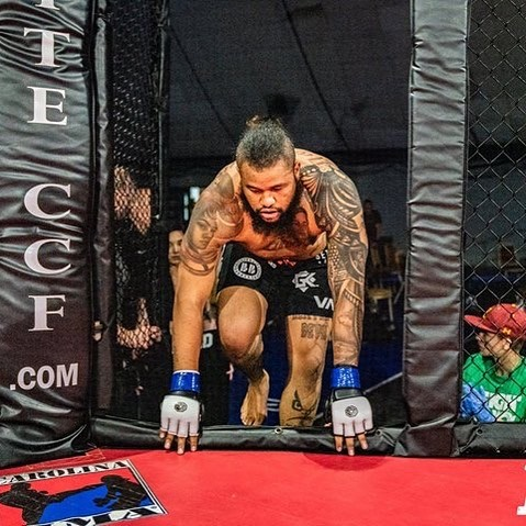 It's more then me that I fight for when I enter this cage!
