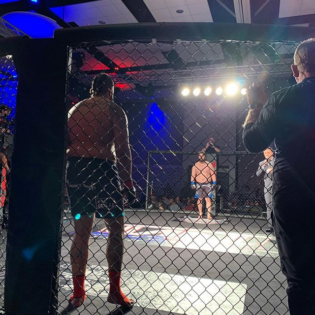 Looking forward to making this walk again! I'm excited for what @nextlevelfightclub has in store! When those lights shine on you it's no turning back, doors are locked and it's time to go to WAR! @ufc @danawhite I'm coming💣🍍⚡️
