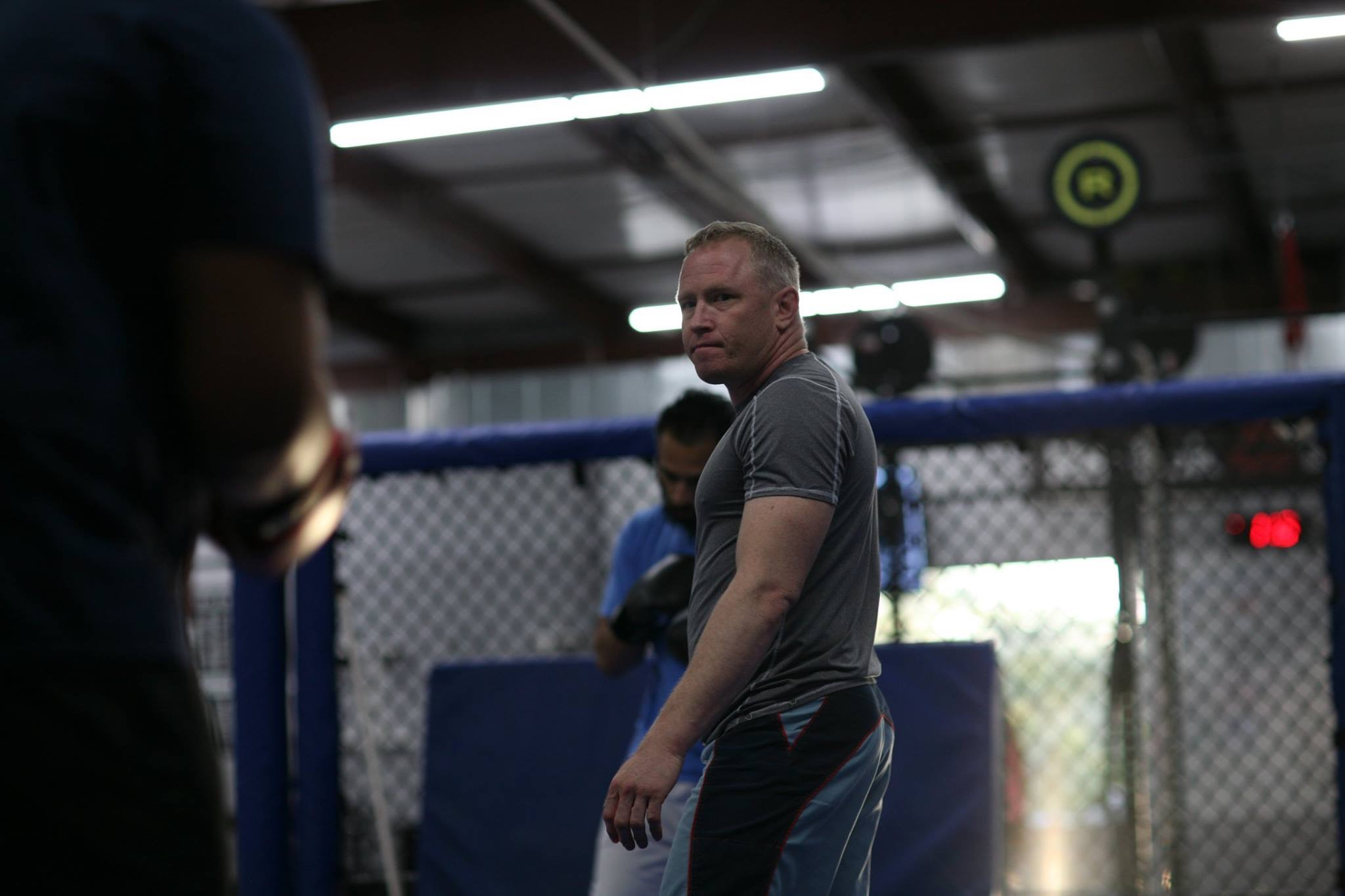 Coach Ted Leiner - Ted has been Dalton's striking coach since day one of his move to Forged Fitness. He is the man responsible for the technique and power that has Dalton rising to the top of the MMA ranks.Ted has been training in Muay Thai for 20 years and has been teaching Muay Thai at Forged Fitness since the very beginning, a little over 9 years ago.He has trained numerous fighters for competitions and has fought at the amateur level himself. Ted's classes focus on solid technique and perfect practice.