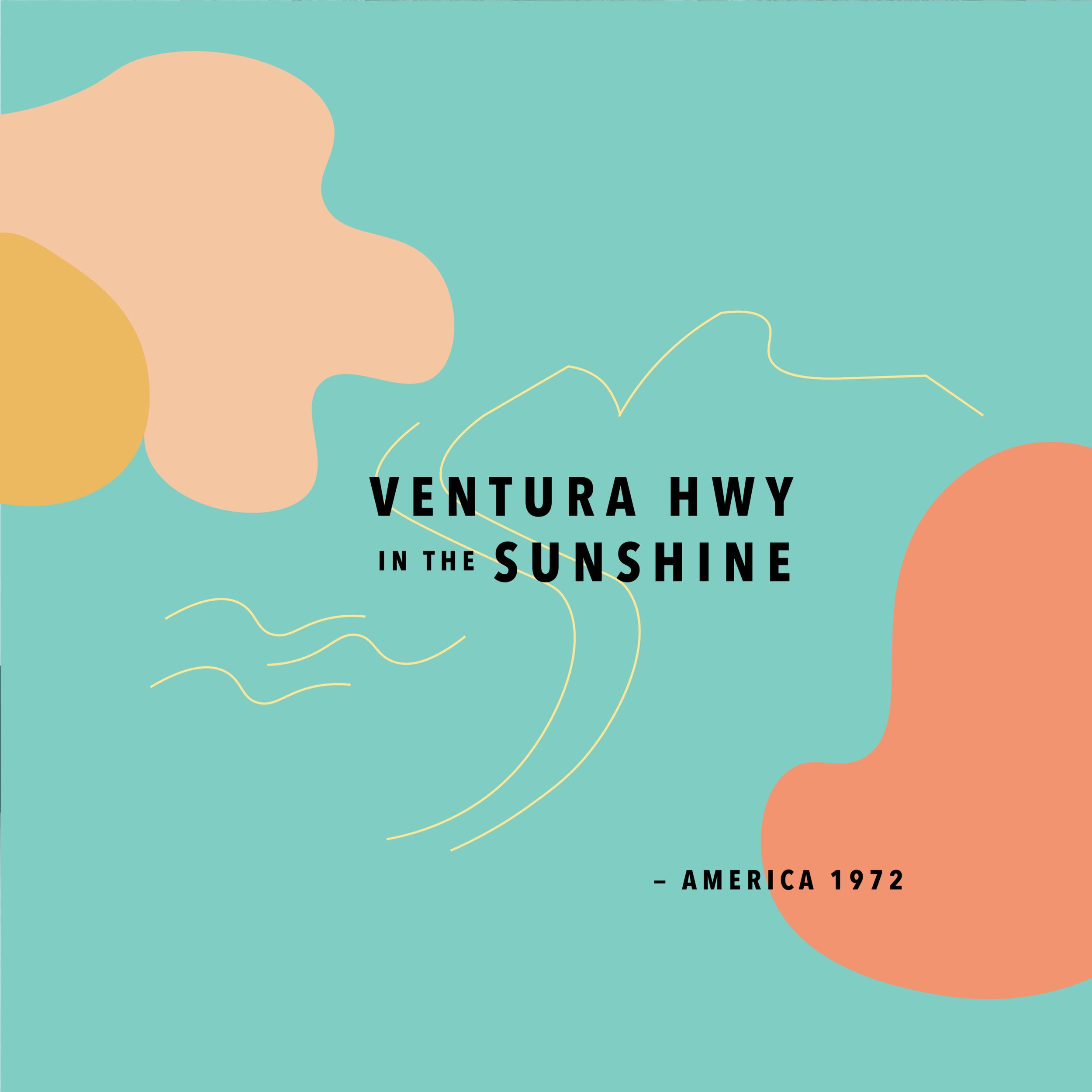 Ventura HWY Print