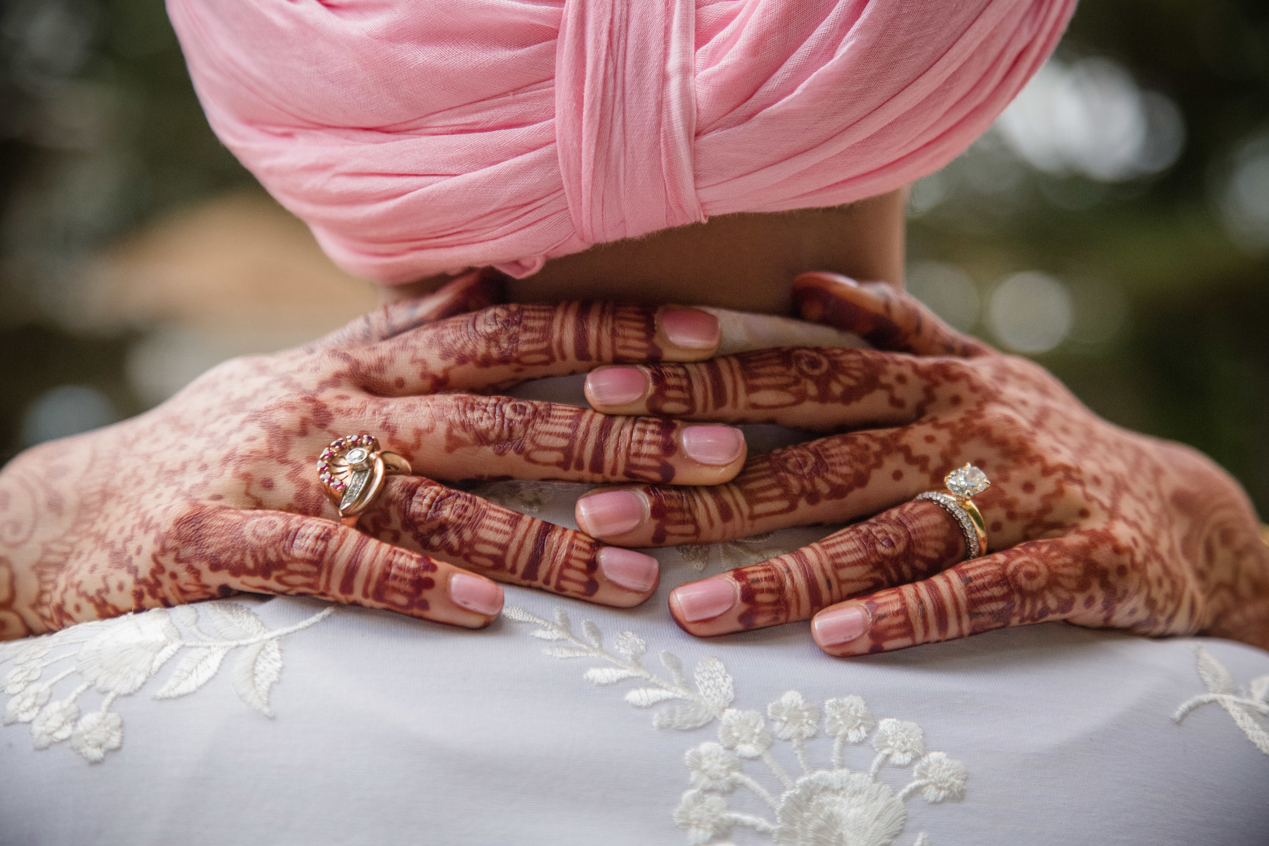 Hands and Henna