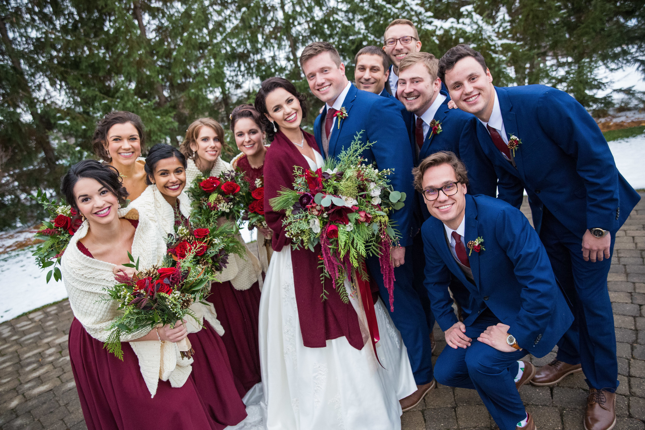 Nick and Marie Bridal Party