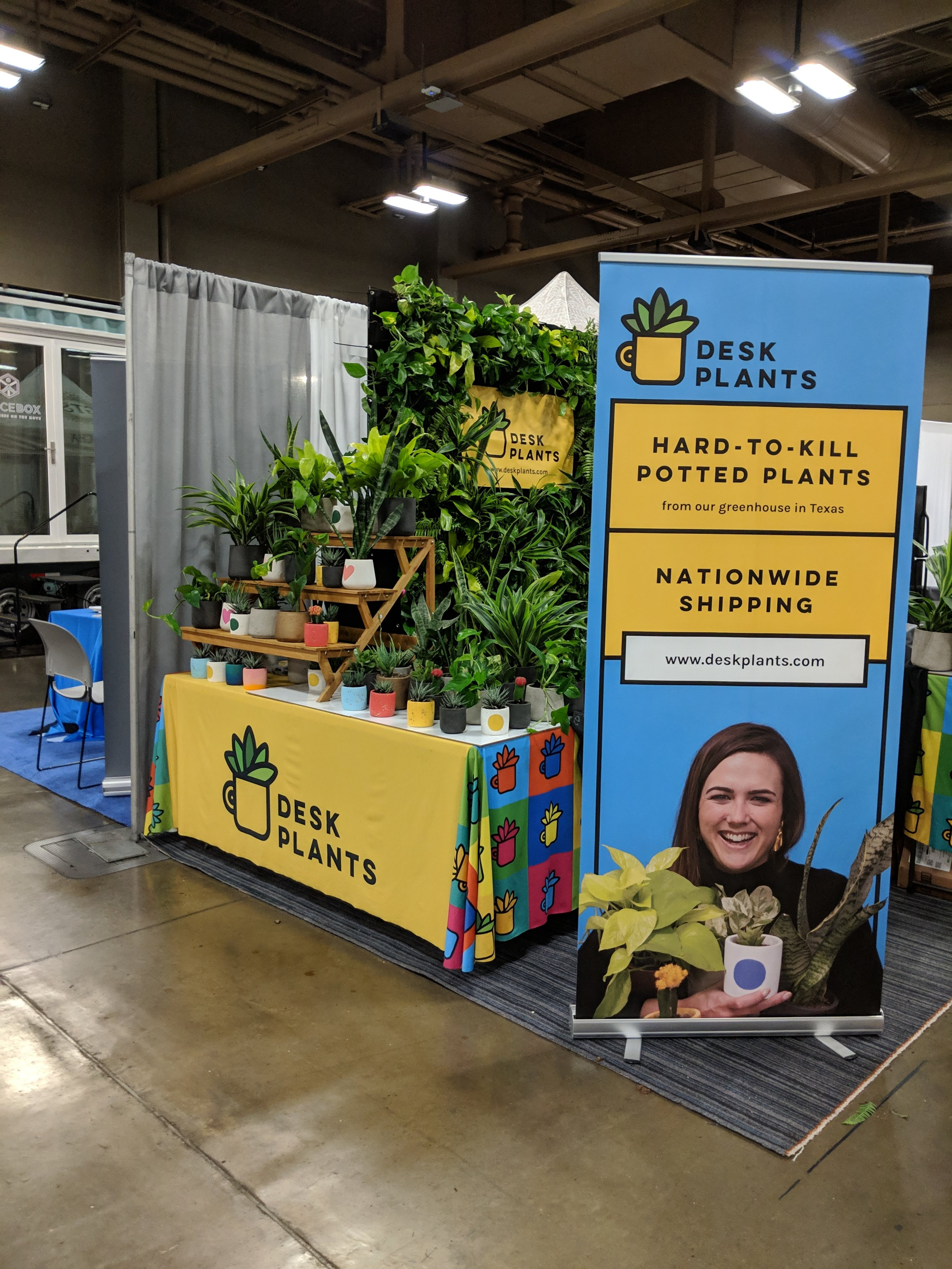 i designed and actually created a live green wall as well as signage for their launch at sxsw