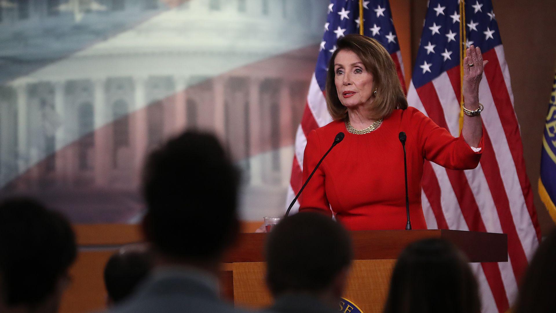 House Speaker Nancy Pelosi. Photo: Mark Wilson/Getty Images