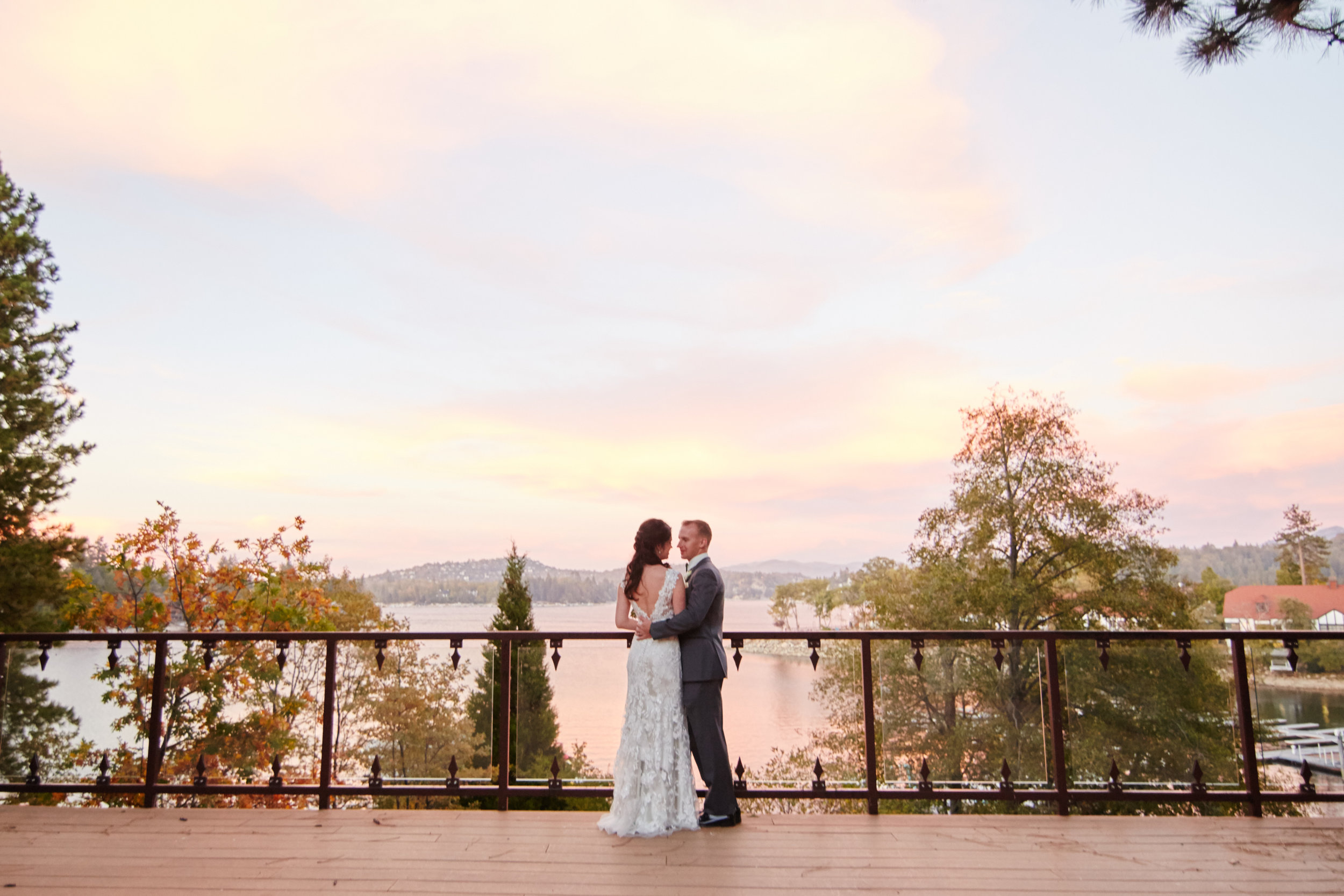 Jill + Chris | Lake Arrowhead Resort