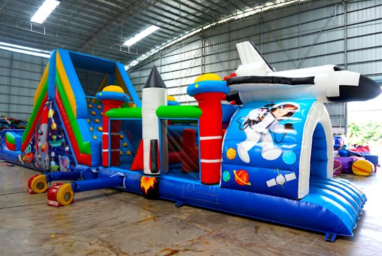 Are you looking for an affordable bounce castle in Singapore? At active interactions, we have large and medium sizes of castles for birthday parties,regardless of your children ages . Contact us today for our services   Size:L1000 X B380 X H490cm