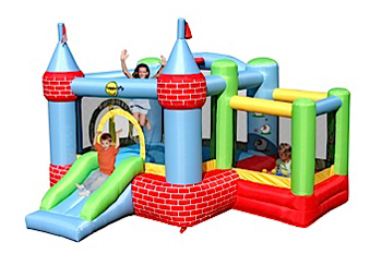 We have the largest collection of inflatable toys in Singapore for your birthday party and family day out. At Carnival Rental ,we have large ,small and medium sizes of inflatable castles available for different children age. Contact us today for our services.   Size:L335 X B304 X H213cm