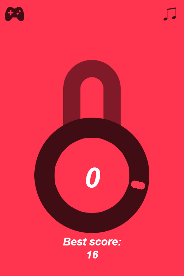 Pop The Lock to win a Prize!Gamification ideas