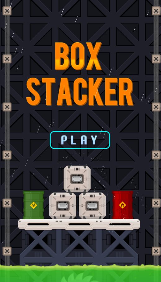 Stack as high as you can.The higher you stack, the more score you have.Gamification