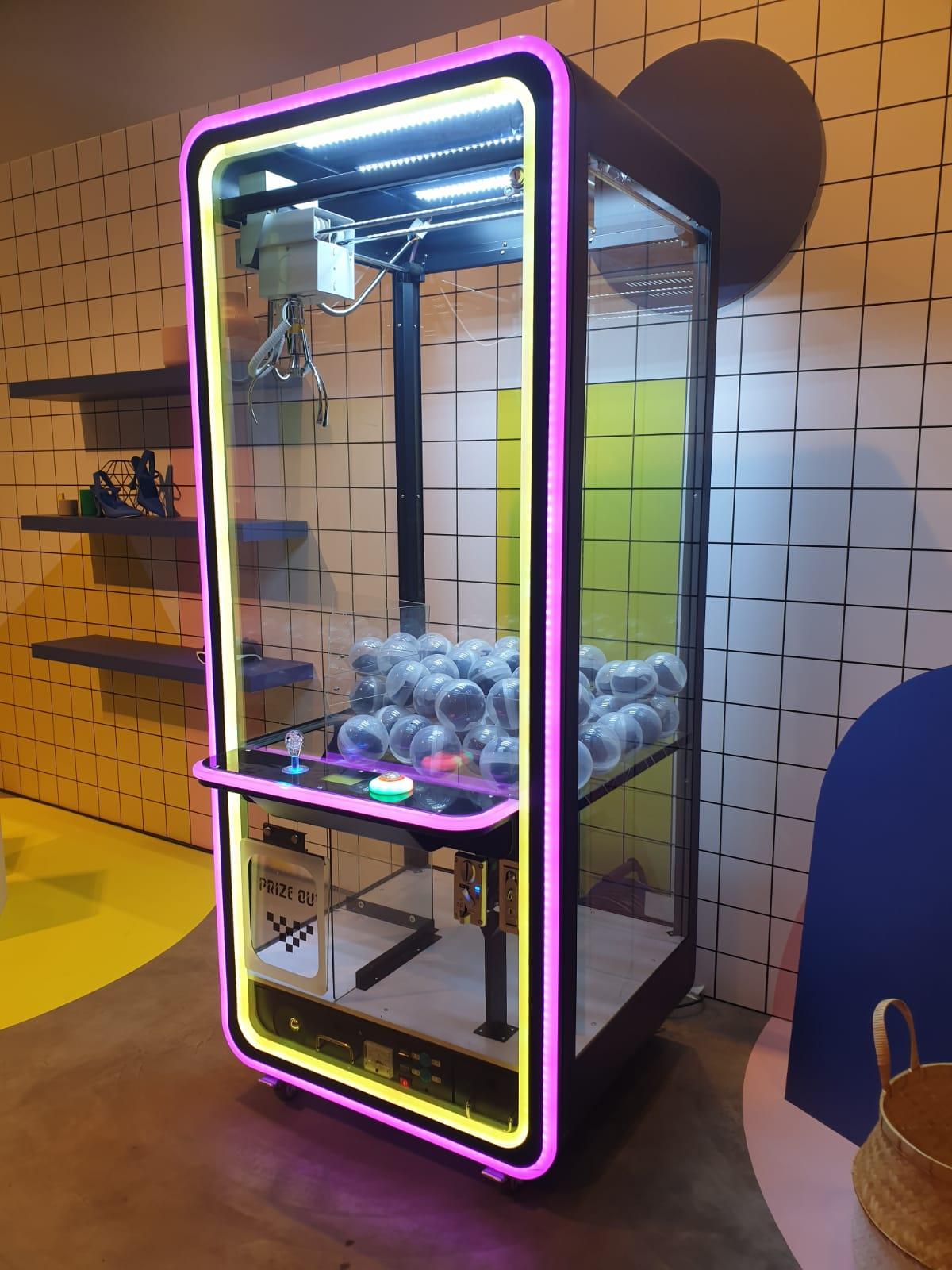 Neon Claw Machine
