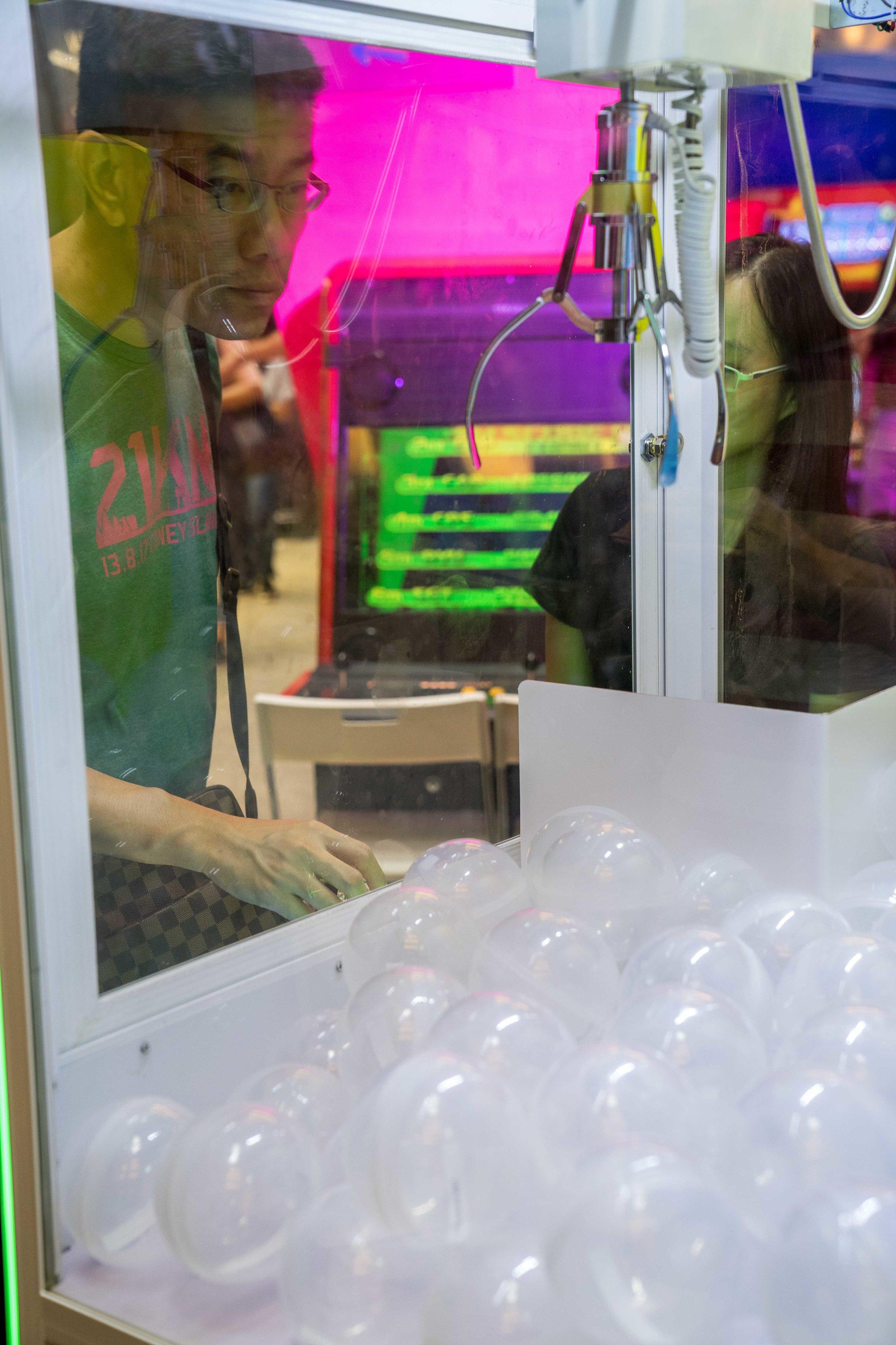 LED Claw Machine