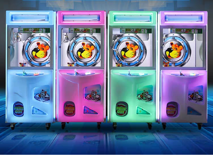 - Claw Catcher Setting :1) Free Play Mode2) Token Setting3) Claw Setting4) LED Setting