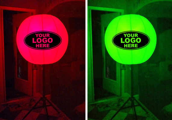 Perfect to have at events and carnivals to catch the attention of anywhere from near or from afar being bale to see your logo lit up in the night or even standing out in the day