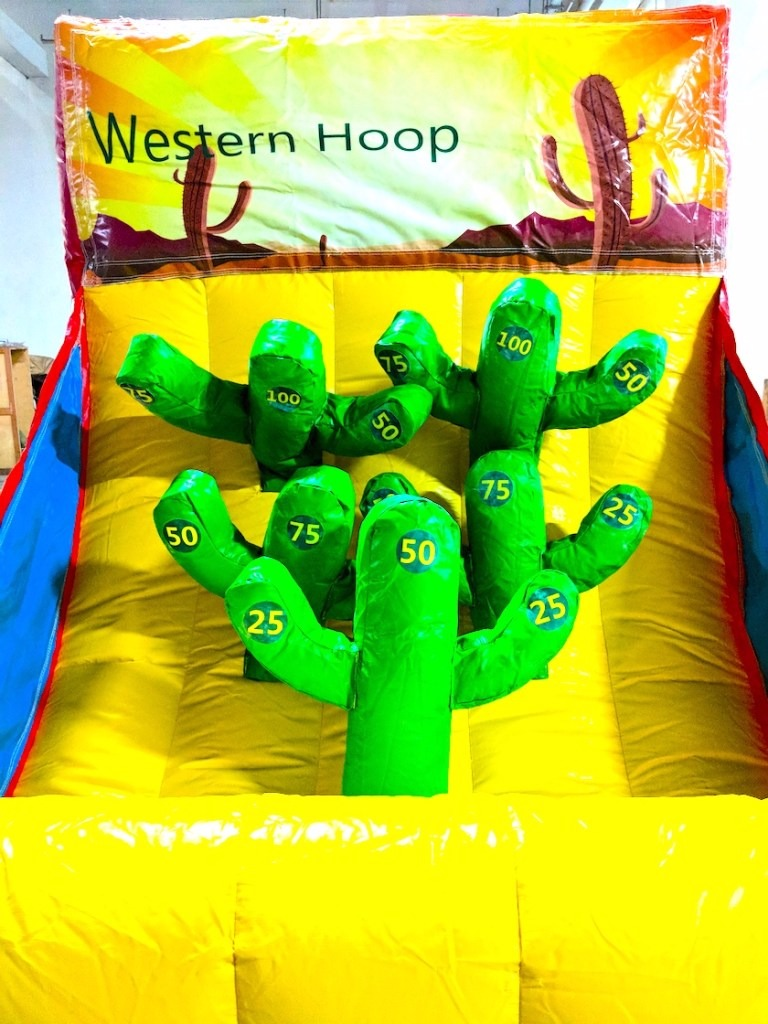 Similar to the ring toss this one uses cactus instead of your traditional poles
