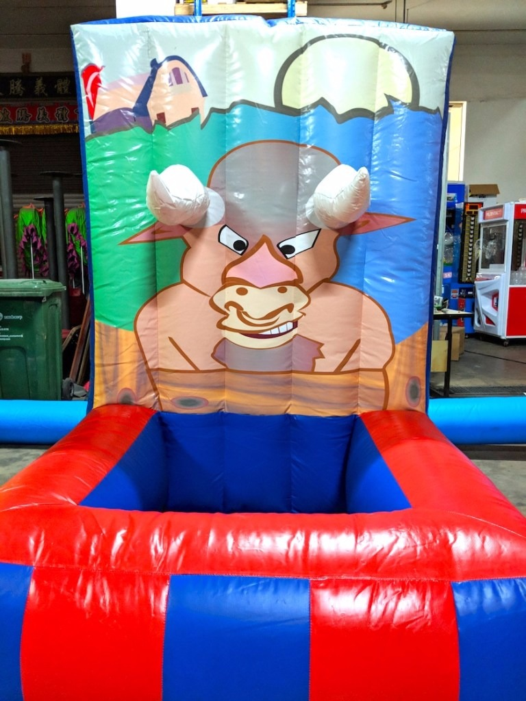 Go against the bull and try to beat the bull and win!