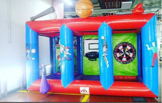 Wanted to have different games in one inflatable we have just what you need here