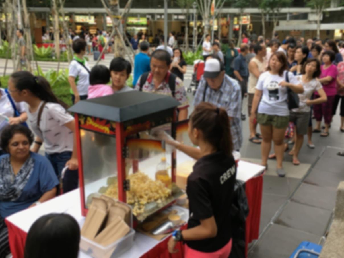 Live Food Station -