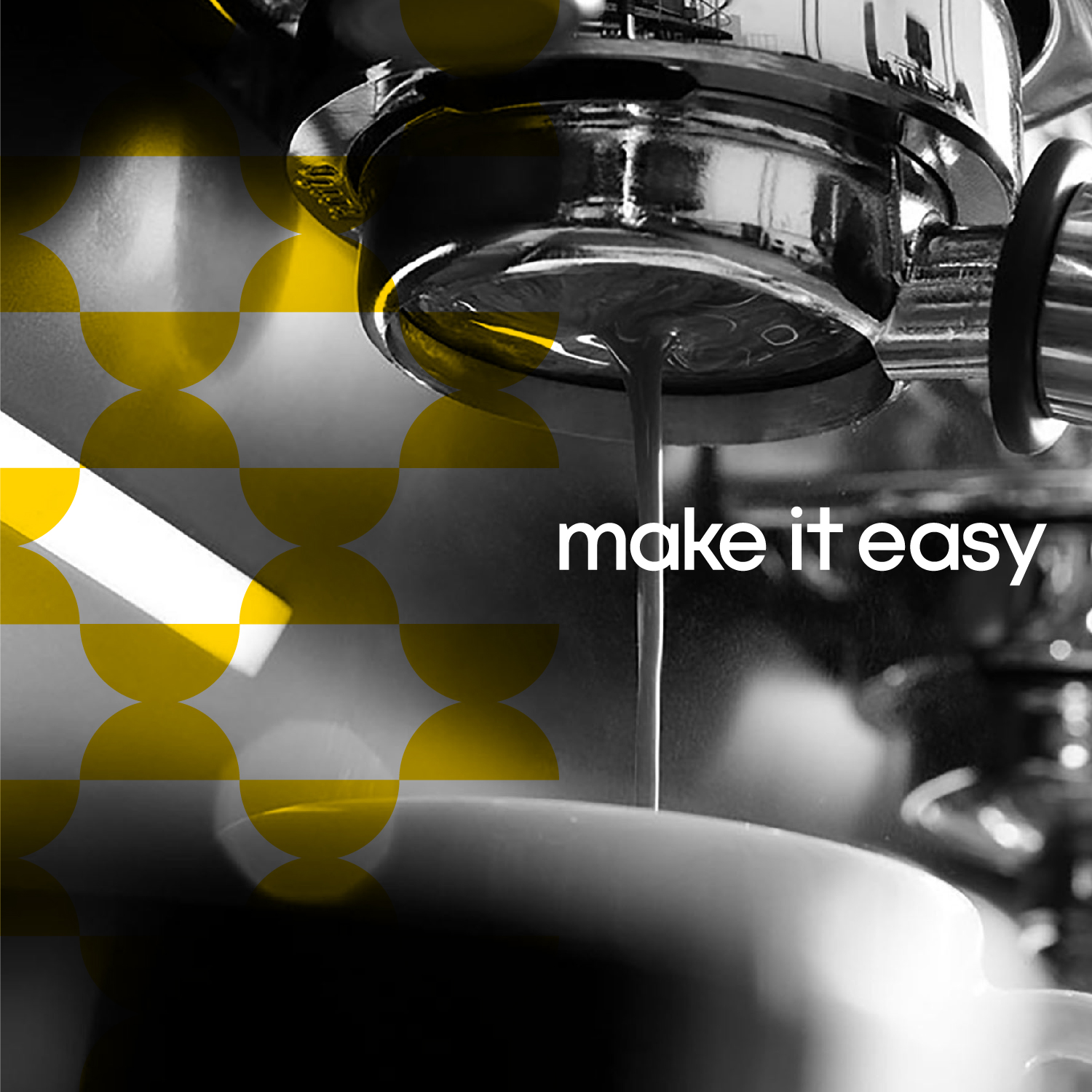 Cotecco coffee machine pour with 'make it easy' brand promise