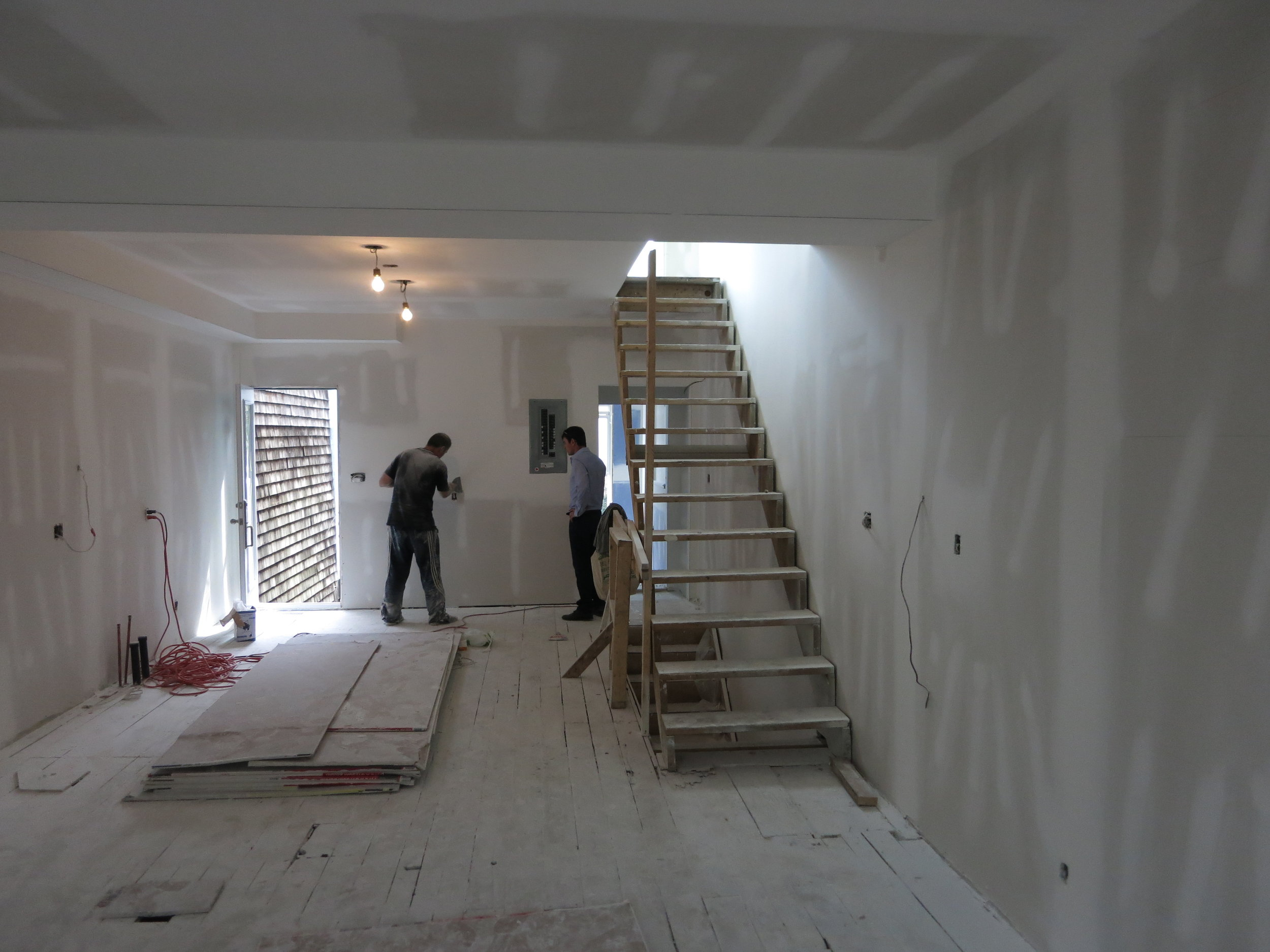 DRYWALL IS AN ART - It take years of experience to master your craft. Whether it's renovation of an old facility or construction of a new building. From a single story in the suburbs to a high rise downtown. Magnum Construction has the experience and resources you can rely on for your next project.
