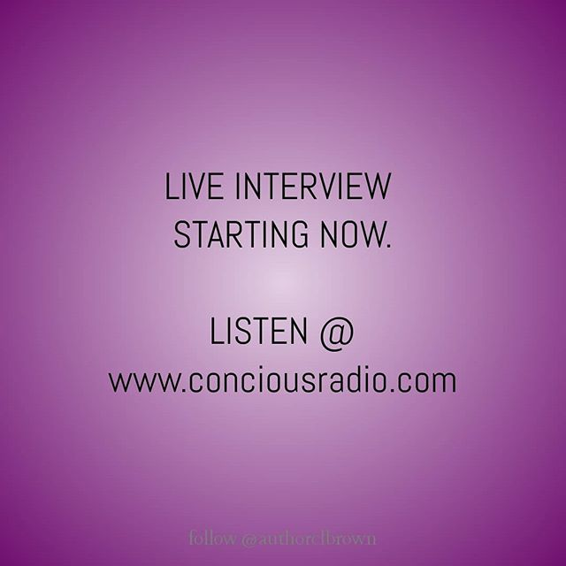 🎧 www conciousradio.com 🎙️ Tune in to my live interview/poetry reading with @imanispeaks1 this evening at 6pm EST. The show airs live in the UK, so for my supporters in the UK and surrounding regions it will be 11pm for you guys.  If you've never listened to any of my interviews with @imanispeaks1 let me tell you that are definitely in for a treat!!!! So please tune in. Tag a friend. Tell a friend. Listen on your mobile devices at www.conciousradio.com 🙏🏿🙏🏿🙏🏿 #liveinterview #poetryoftheday #poetryreading #conciousradio #liveradio #uk #nyc #ny #miami  #imanispeaks #poet #author #motivator #inspire