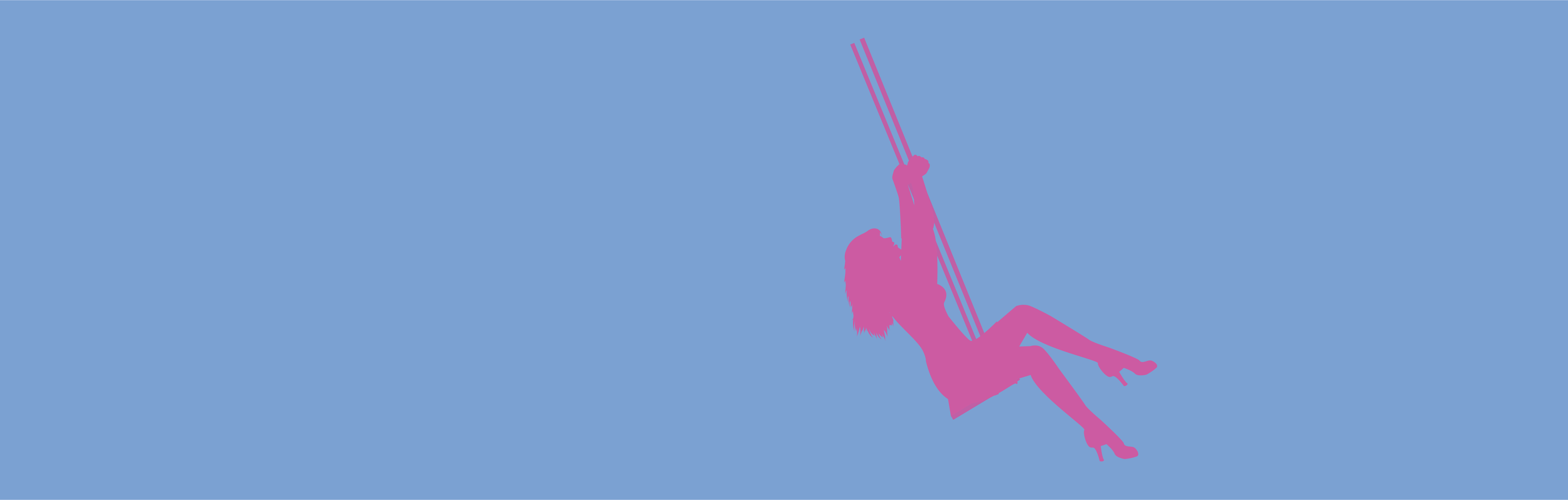 Lady in pink with blue background.png