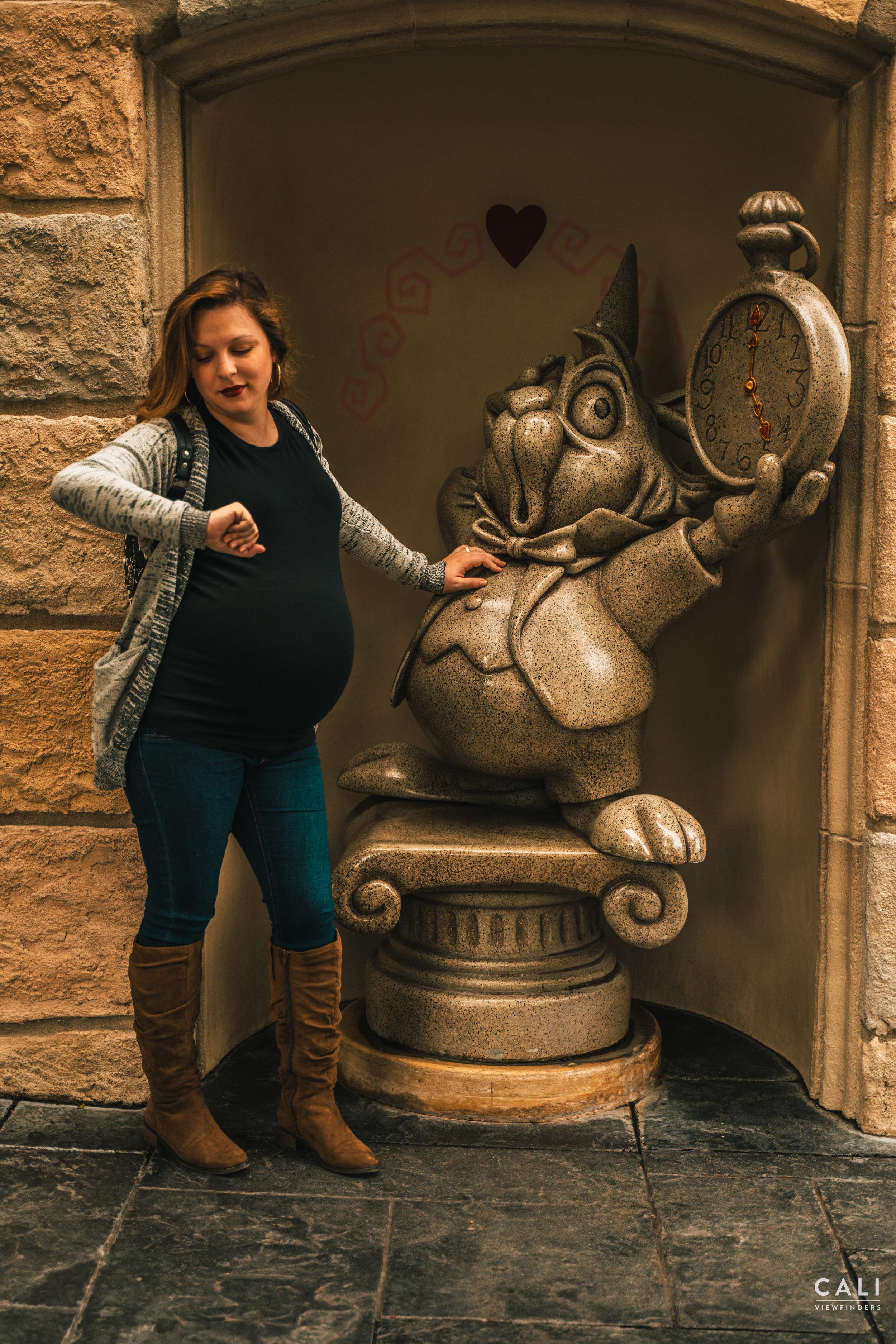 - disney maternity shoot