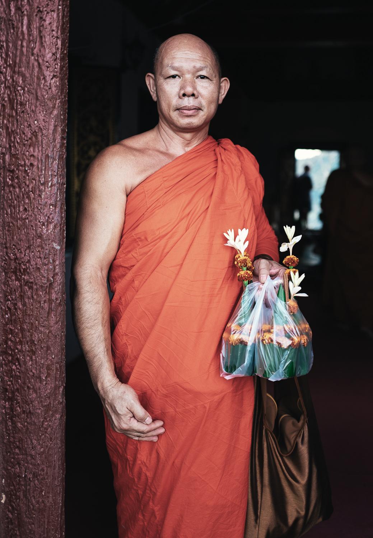 Monk, Luang Prabang, Laos - 2017
