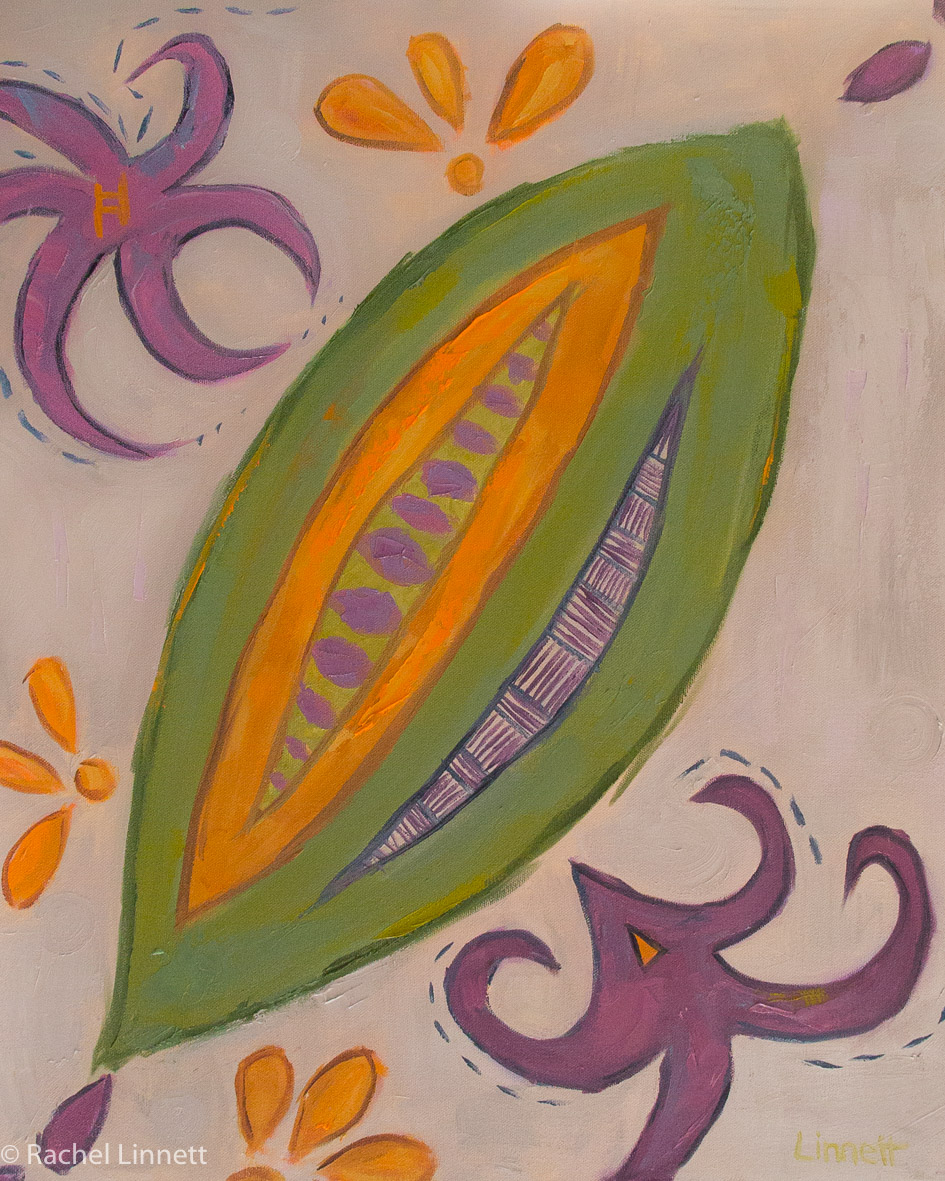 """To own a custom piece that is directly related to my spirit and soul is priceless. Rachel tapped in to the very heart of me to bring forth the beauty that is seen here on canvas. The fluid movements of the symbols and colors, are the dance of my spirit that I live by. She truly listens from her heart and allows the paint brush to do its work. I am beyond grateful for Rachel's spirit, for her gifts and creative soul.""  Amy Nelsen"