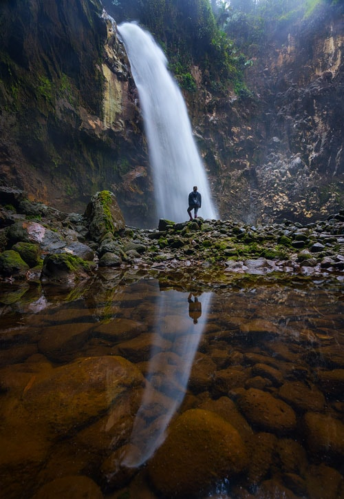 The Rio Agrio waterfall is a true hidden gem that does not see big crowds