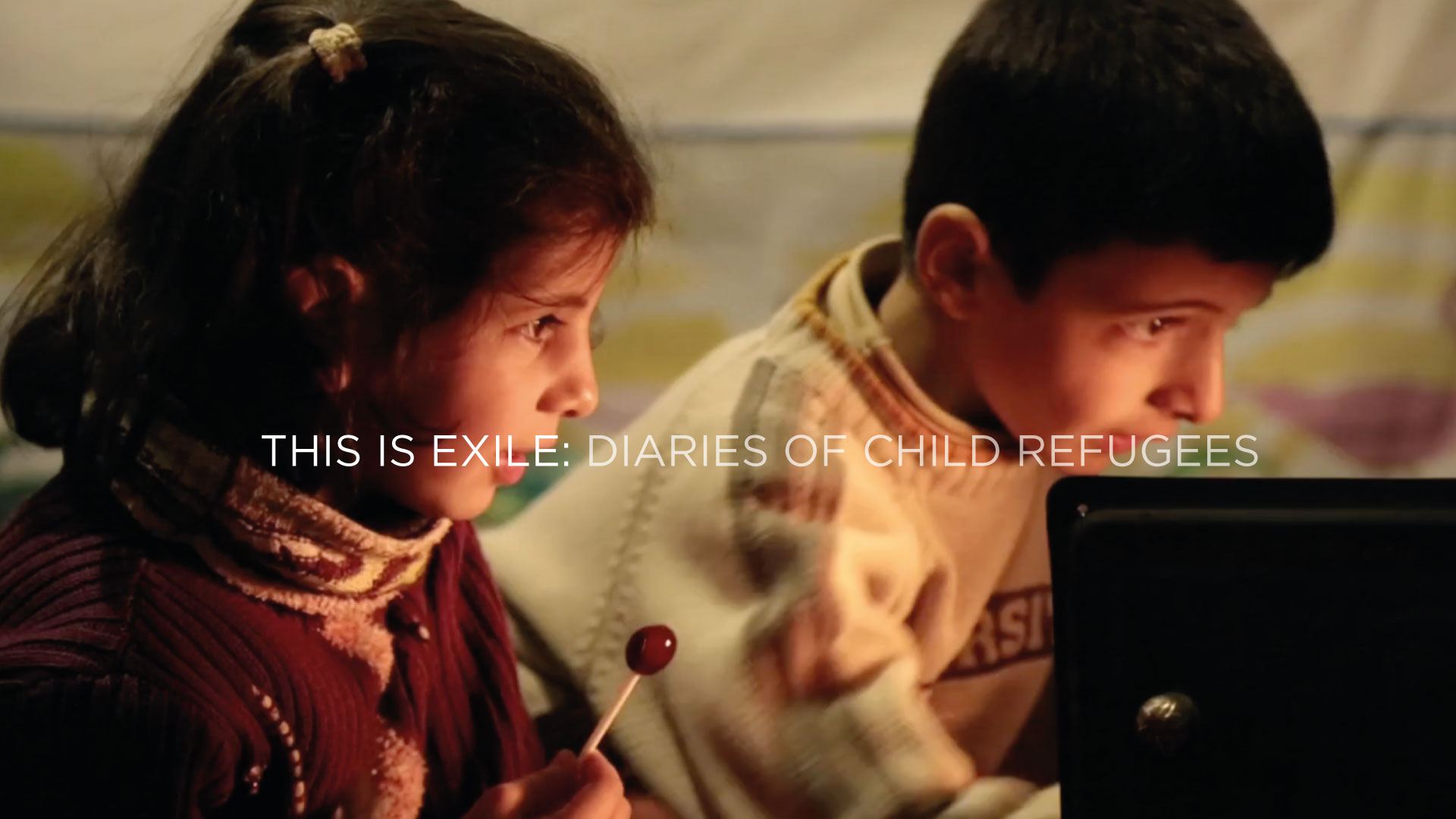 THIS IS EXILE: DIARIES OF CHILD REFUGEES - INTERNATIONAL JURY PRIZE 2015Document Film FestivalOFFICIAL SELECTIONInternational Documentary Film Festival Amsterdam 2015